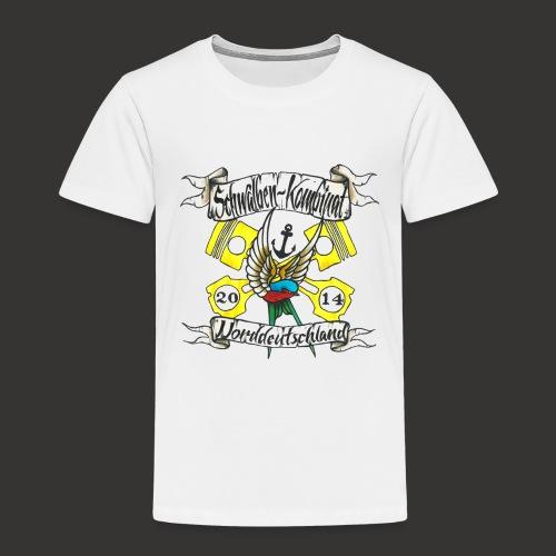 LOGO-SKN14 schwarz - Kinder Premium T-Shirt
