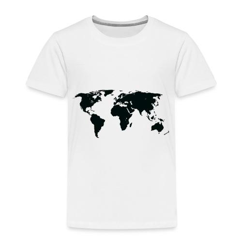 World - Børne premium T-shirt