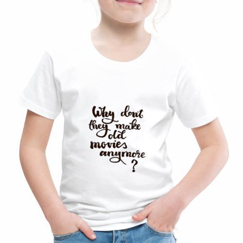 Gamla filmer - Premium-T-shirt barn