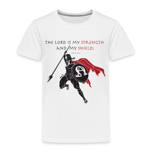 Christian Warrior - Kinder Premium T-Shirt