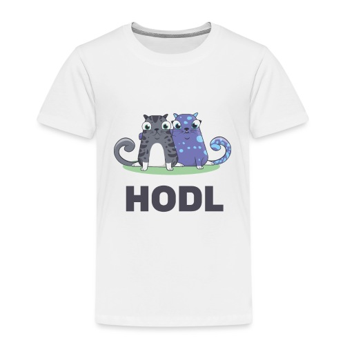 Kitty HODL - Kids' Premium T-Shirt