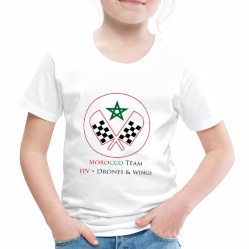 Official Morocco Drone Team - T-shirt Premium Enfant