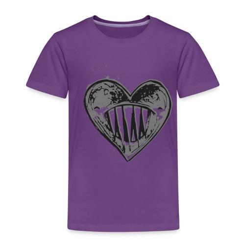 Corazón Negro - Camiseta premium niño