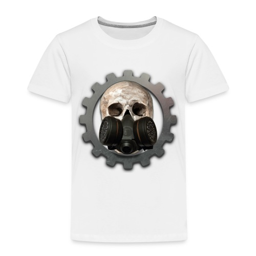 EBM - ELECTRONIC BODY MUSIC DEATH HEAD RESPIRATOR - Kids' Premium T-Shirt