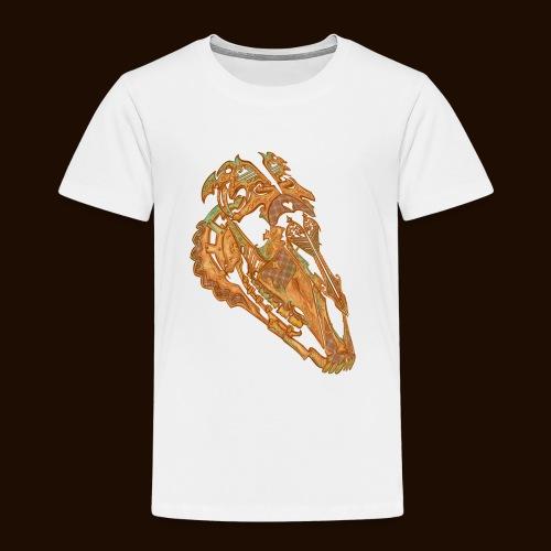Crâne Dentelle - T-shirt Premium Enfant