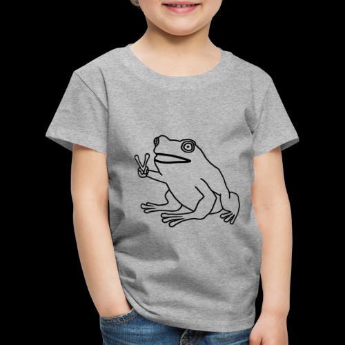 Funny Animal Frog Frosch - Kinder Premium T-Shirt