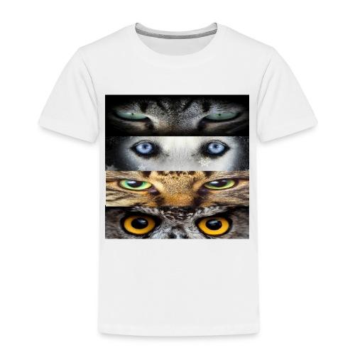 eyes cats - T-shirt Premium Enfant