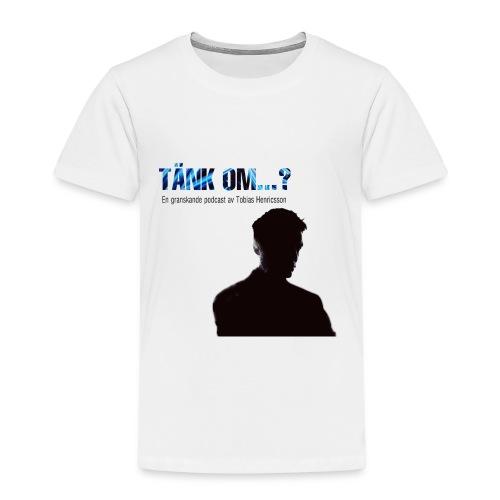 """Podcasten """"Tänk om...?"""":s logga - Premium-T-shirt barn"""