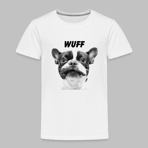 Wuff - Hundeblick - Hundemotiv Hundekopf - Kinder Premium T-Shirt