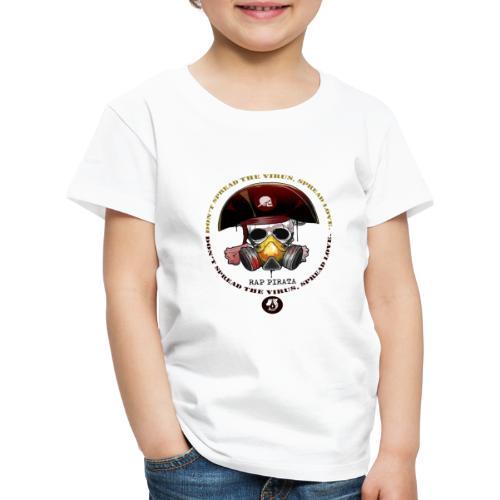 RAPPIRATA X iorestoacasaArtistiUniti - Maglietta Premium per bambini