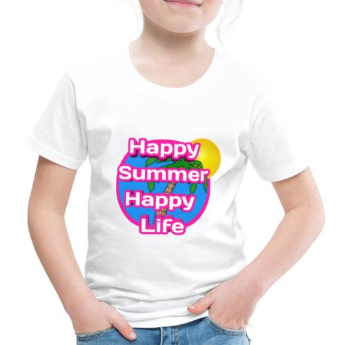 Happy Summer - Kinderen Premium T-shirt