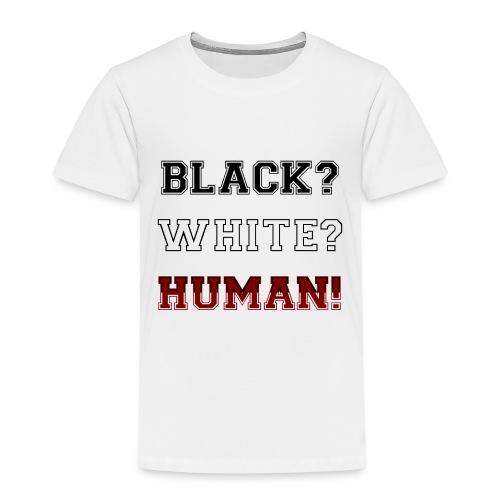 Anti Rassismus Schwarz Weiß Mensch - Kinder Premium T-Shirt