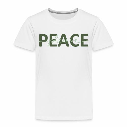 Peace please - Premium-T-shirt barn