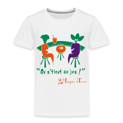 on stient au jus - T-shirt Premium Enfant
