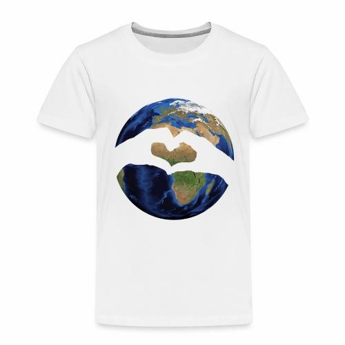 Zu zweit um die Welt - Logo - Kinder Premium T-Shirt