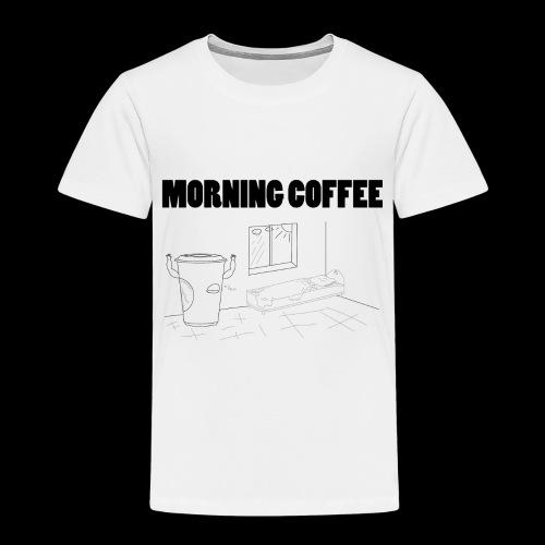 Morning Coffee - Kids' Premium T-Shirt