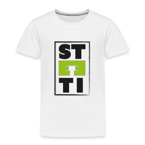 Steeti logo - Premium-T-shirt barn