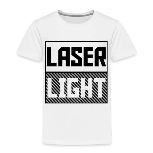 laser light design - Kids' Premium T-Shirt