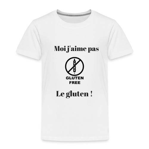 Moi j'ai pas le gluten - T-shirt Premium Enfant