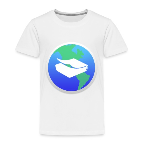 kaeru world icon - Kids' Premium T-Shirt