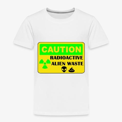 Attention ! Déchets aliens radioactifs - T-shirt Premium Enfant