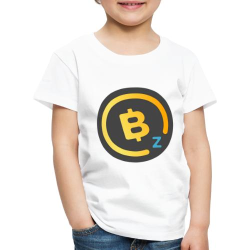 Dark BitcoinZ Logo - Kids' Premium T-Shirt