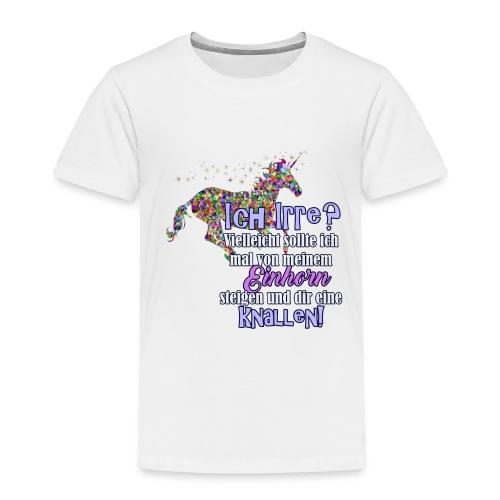 einhorn1 - Kinder Premium T-Shirt