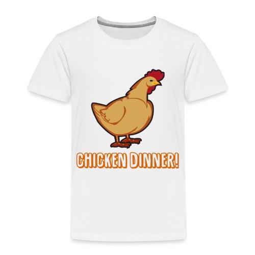 Chicken Dinner! - Premium T-skjorte for barn