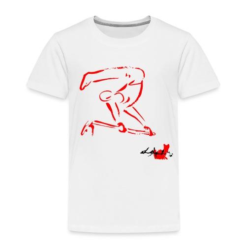 GINNASTA ALLA SBARRA ROSSO - Maglietta Premium per bambini