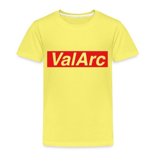 ValArc Text Merch Red Background - T-shirt Premium Enfant