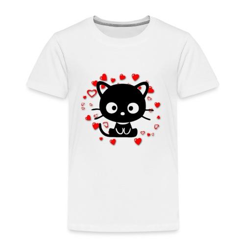 CatLove - Maglietta Premium per bambini