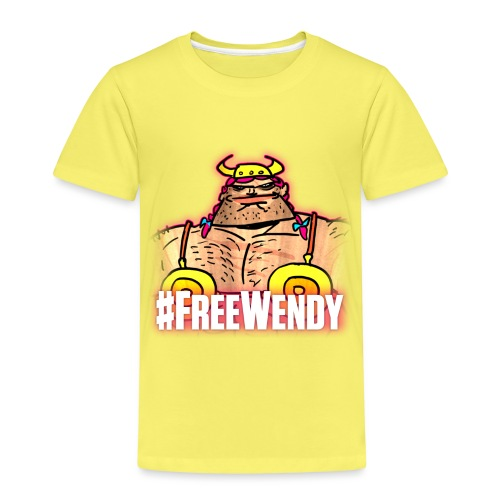 #FreeWendy - Kids' Premium T-Shirt