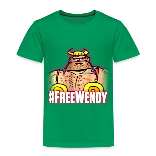 #FreeWendy - Kids' Premium T-Shirt