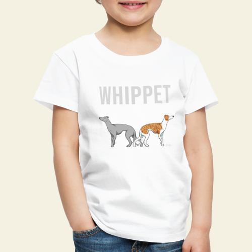 Whippet Mama - Lasten premium t-paita
