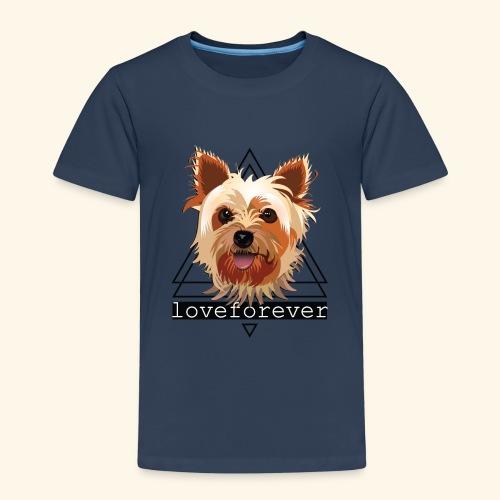 YORKIE LOVE FOREVER - Camiseta premium niño