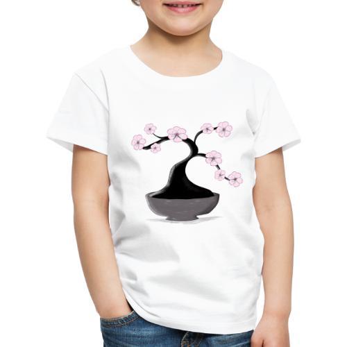 Kirschblueten Bonsai - Kinder Premium T-Shirt