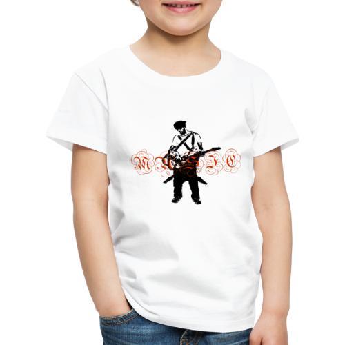 Guitarr Musician by Stefan_Lindblad - Premium-T-shirt barn