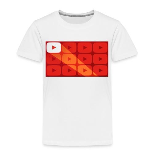 youtube - Maglietta Premium per bambini