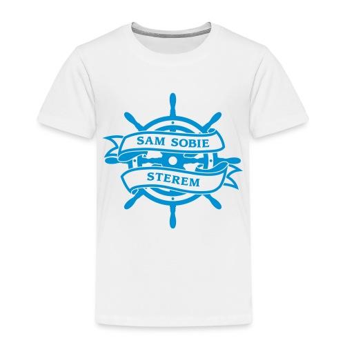 Jestem dla siebie sterem, żeglarzem, okrętem - Koszulka dziecięca Premium