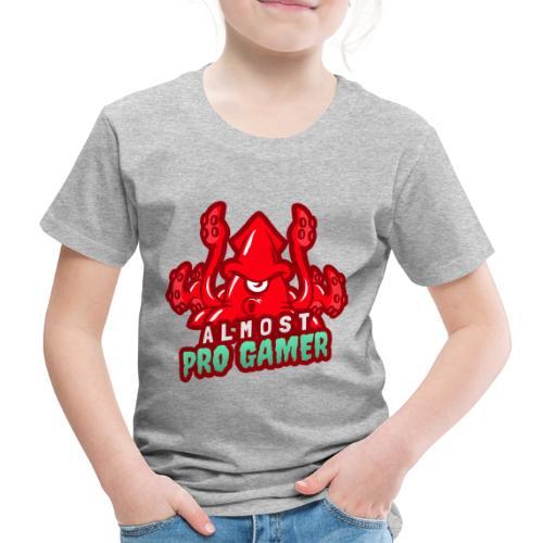 Almost pro gamer RED - Maglietta Premium per bambini