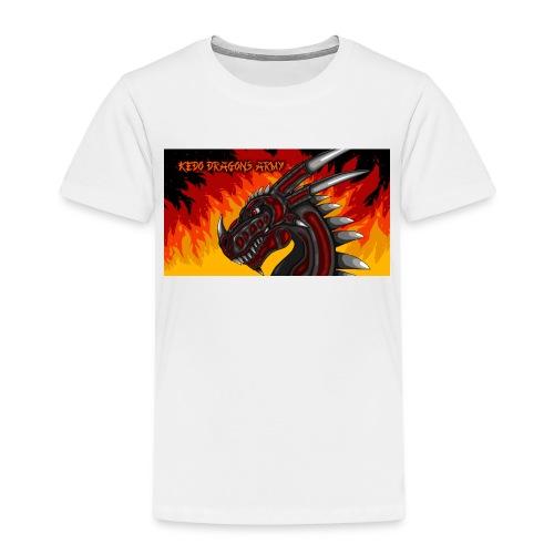 Drache Black Red KeDoArmyAsia - Kinder Premium T-Shirt