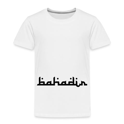 bahadir logo1 png - Kinder Premium T-Shirt