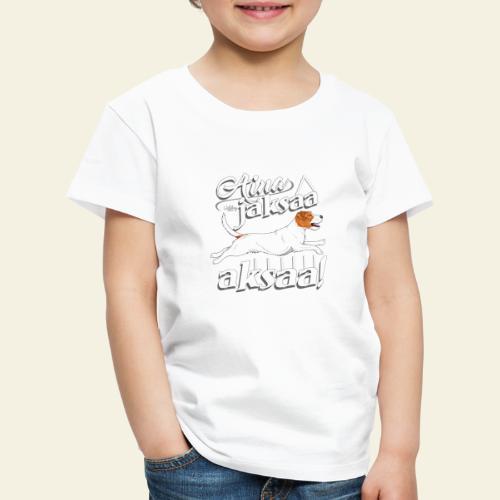 parsonijaksaaaksaa - Lasten premium t-paita