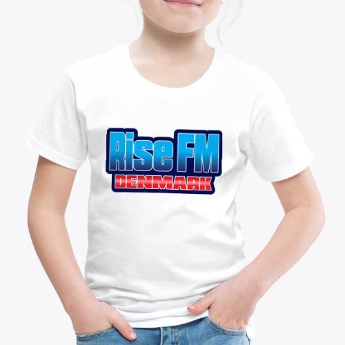 Rise FM Denmark Text Only Logo - Børne premium T-shirt