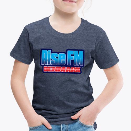 Rise FM Denmark Text Only Logo - Kids' Premium T-Shirt