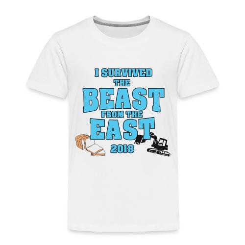 Beast from the East Survivor - Kids' Premium T-Shirt