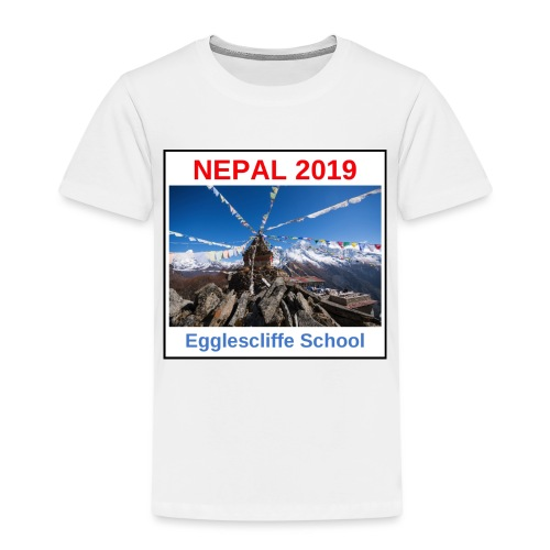 Nepal Egglescliffe School T-shirt Version 1 - Kids' Premium T-Shirt