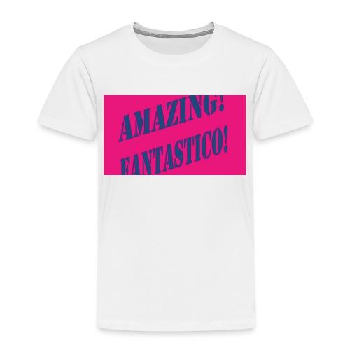 fantástico - Kinderen Premium T-shirt