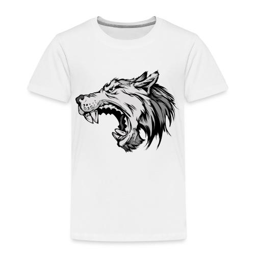 wolves logo 4 - Kids' Premium T-Shirt