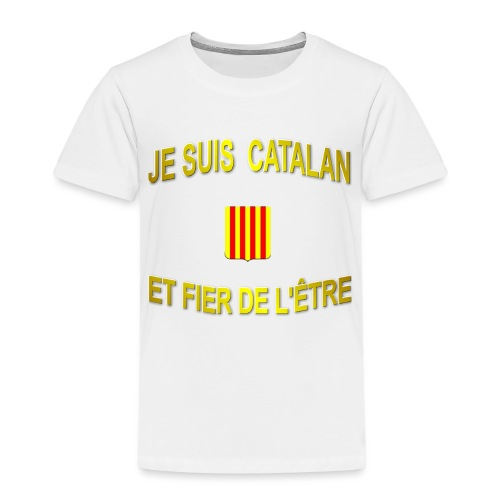 Tee-Shirt supporter du pays CATALAN - T-shirt Premium Enfant
